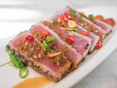 tare: Spicy Tuna, Japanese Fusion Cuisine