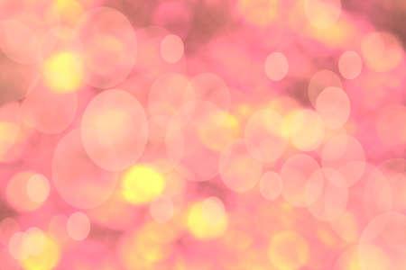 spacing: light pink bokeh background
