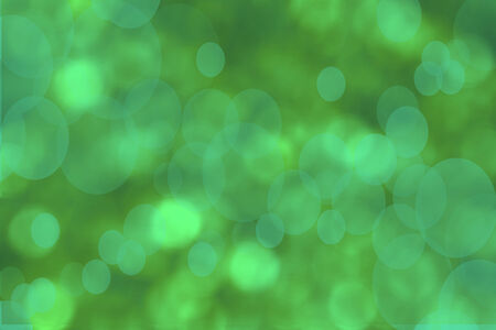 light green bokeh background Stock Photo