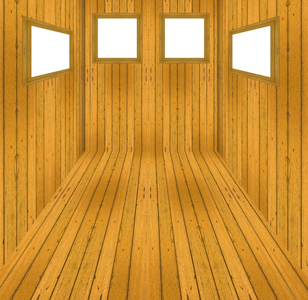 Wood textureand picture frame background photo
