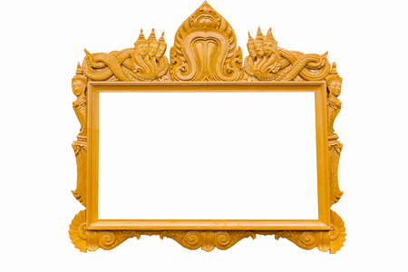Picture Frame of Thailand photo