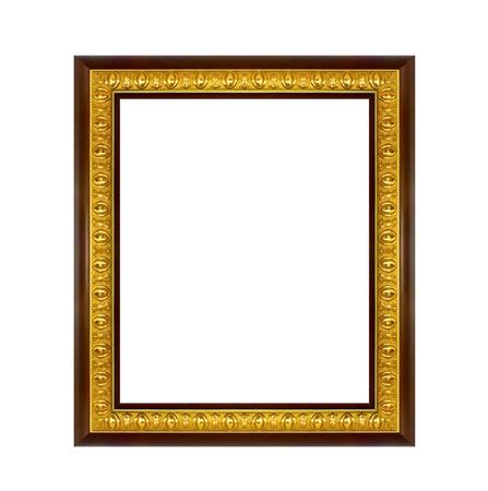 gild: Il telaio isolato su sfondo bianco