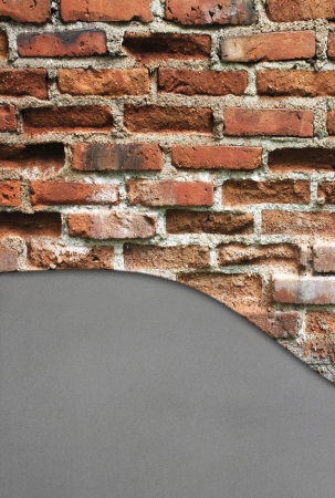 texture of the red brick wall for background Stock Photo - 18199185