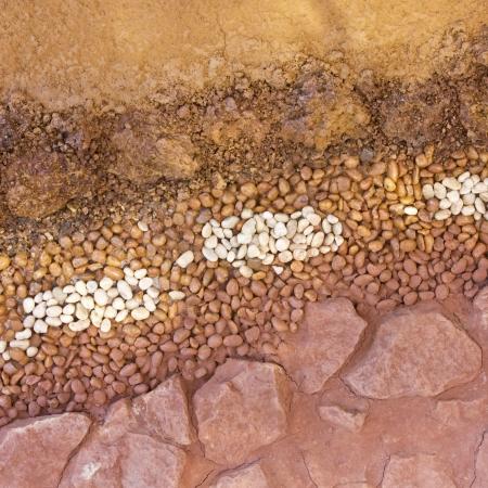 Layer of soil underground Stock Photo - 18199182