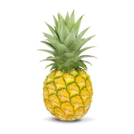 Pineapple isolated on white background photo