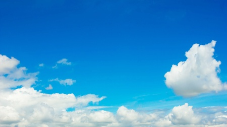 The blue sky Stock Photo - 21801665