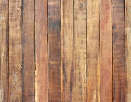 Texture  wood pannels on wall background photo