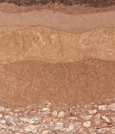 Layer of soil underground Zdjęcie Seryjne