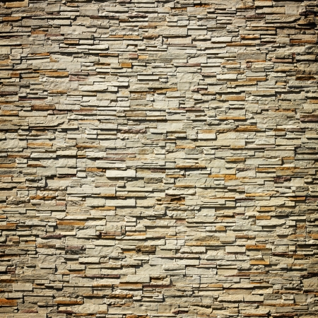 pattern of decorative slate stone wall surface photo