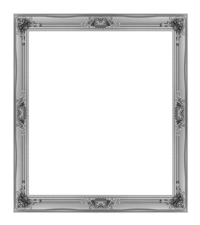 frame isolated on the white background