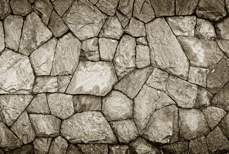 Background of stone wall texture Stock Photo