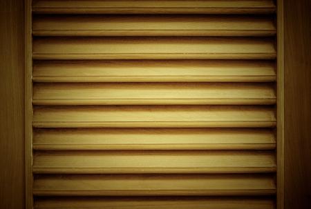 wood blinds: wood blinds closeup