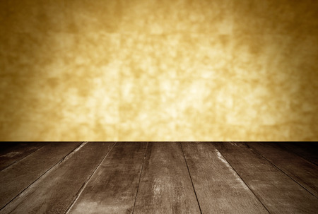 wooden and orange wall blur  photo