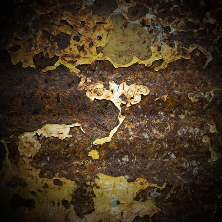 abstract corroded colorful wallpaper grunge background iron rusty artistic wall peeling paint photo