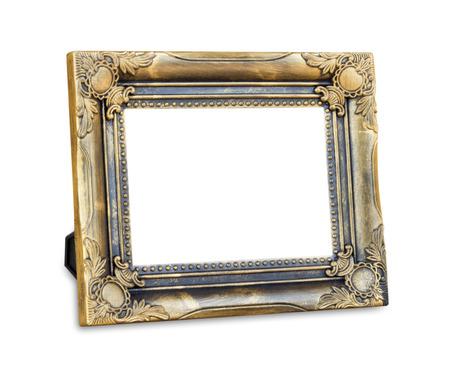 cadre antique: cadre antique sur le fond blanc