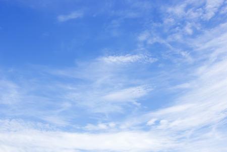 Wolk en blauwe hemel voor achtergrond textuur Stockfoto