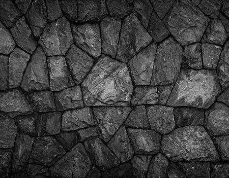Background of stone wall texture Standard-Bild