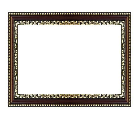 cadre antique: Antique frame sur le fond blanc