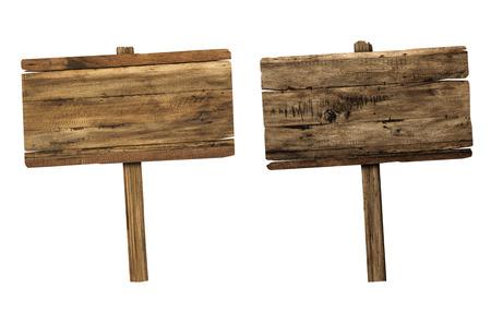placa bacteriana: Muestra de madera aislada en blanco. Tablones de madera viejos firman.