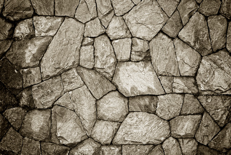 stone wall texture: Background of stone wall texture Stock Photo