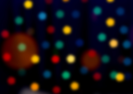 candlelit: Lights on bokeh as background.