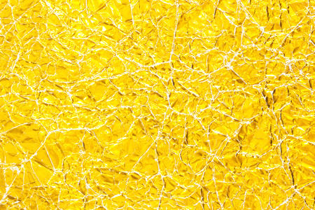 shiny gold: Shiny yellow leaf gold foil texture background.