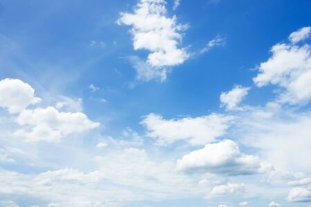clouds in the blue sky background. Stock Photo - 81654765