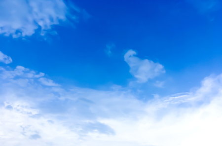clouds sky in the blue sky background Stock Photo