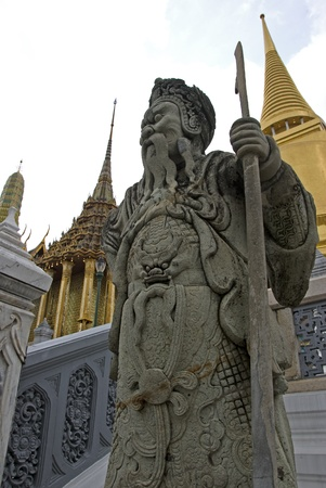 Giant Statue in Wat Phra Kaew photo