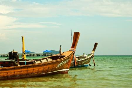 Longtail Boat at Rawai Beach Phuket