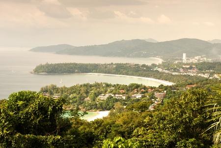 Bird eye view of Phuket viewpoint photo