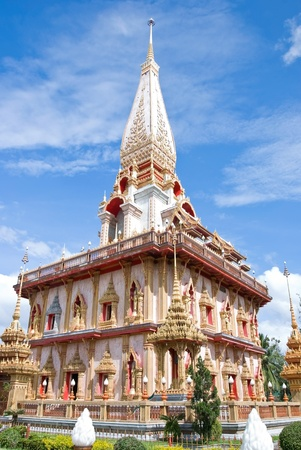 chalong: a temple is Chalong
