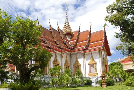 temple church Chalong Stock Photo - 12031245