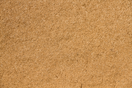Wall for background or texture of mud and straw  adobe  baked in the sun  Standard-Bild