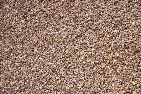 Background or texture of pebbles or gravel  Standard-Bild