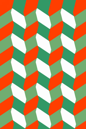 sinuous: xtile pattern design or wallpaper. Sinuous style of Op Art