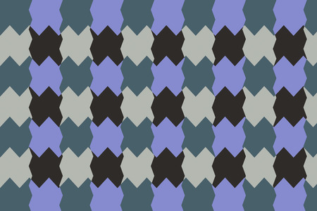 irregular shapes: Textile pattern design or wallpaper. With irregular geometric shapes