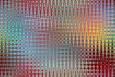 Dessin ou modèle avec des couleurs givrées à effet de verre