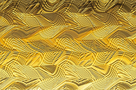 gold textured background: Textured background in gold and embossed abstract geometric shapes