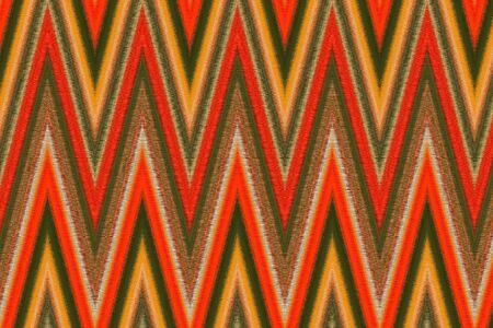 zig zag: Textile textured geometric pattern design Zig Zag Stock Photo