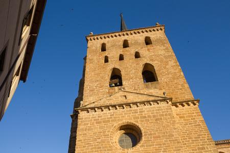 quicksilver: Tower Church of Santa Maria of Quicksilver or The Mayor of Benavente. Zamora. Spain
