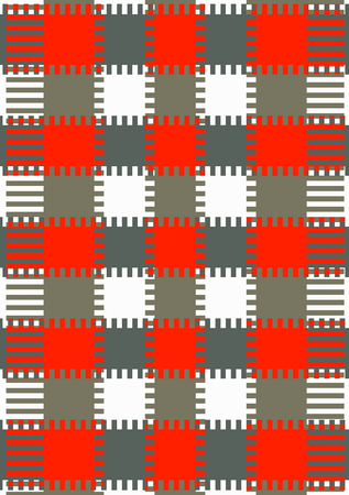 remnant: Textile or wallpaper pattern Design With elements and jagged square Repeated interweaving Stock Photo