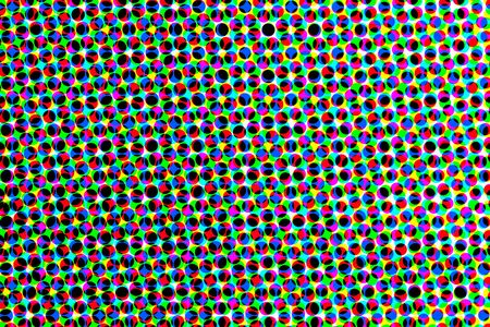 subtraction: Wallpaper pattern or overlapping frames or frames or subtraction meshes with color circles