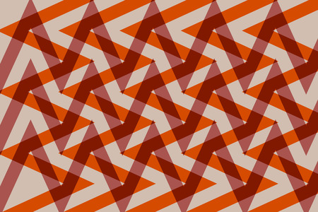 Geometric design pattern for textile or wallpaper With elements or zigzag lines