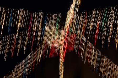 abstracto: Painting with Light. Colored lights sweep forming an image abstract lines or stripes - Pintura con Luz. Barrido de Luces de Colores que forman una imagen abastracta de lineas o rayas de colores  abstracto, barrido, luces, colores, lineas, pintura, luz,