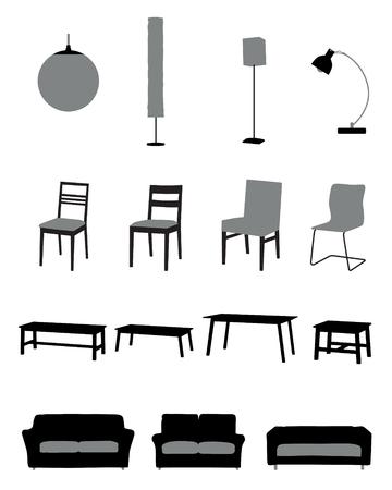 modern decoration vector (2 colors)