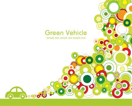 Green vehicle Illustration