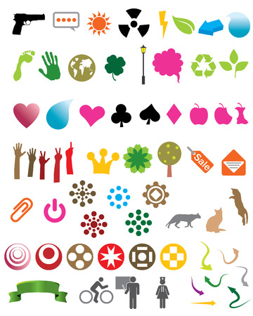 Over 60 design elements Vector