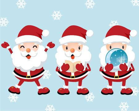 Lovely Santa Claus Vector