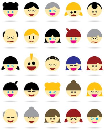 avatars: Carattere Icone